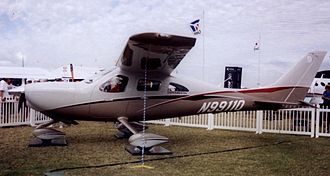 Cessna NGP - The Cessna NGP prototype on display at Lakeland, Florida, in April 2007