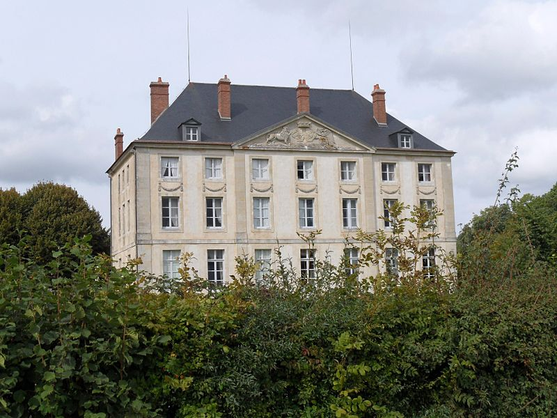Château de Montjalin, commune de Sauvigny le Bois, Yonne