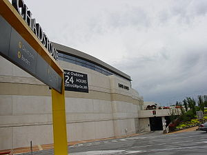 Chadstone Shopping Centre - A 2004 Exterior view of David Jones from the South-West side.