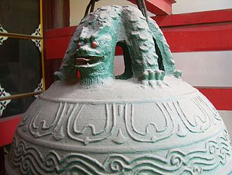 Nine sons of the dragon - Pulao in Changchun Temple, Wuhan