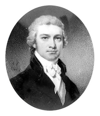 Maryland's 8th congressional district - Image: Charles Goldsborough, 1802 painting