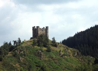 Alleuze - The Château d'Alleuze