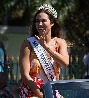 Chelsea Hardin - Image: Chelsea Hardin King Kamehameha Parade 2016 cropped
