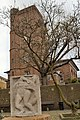Chelsea Old Church, from Ropers Garden with Epstein panel.jpg