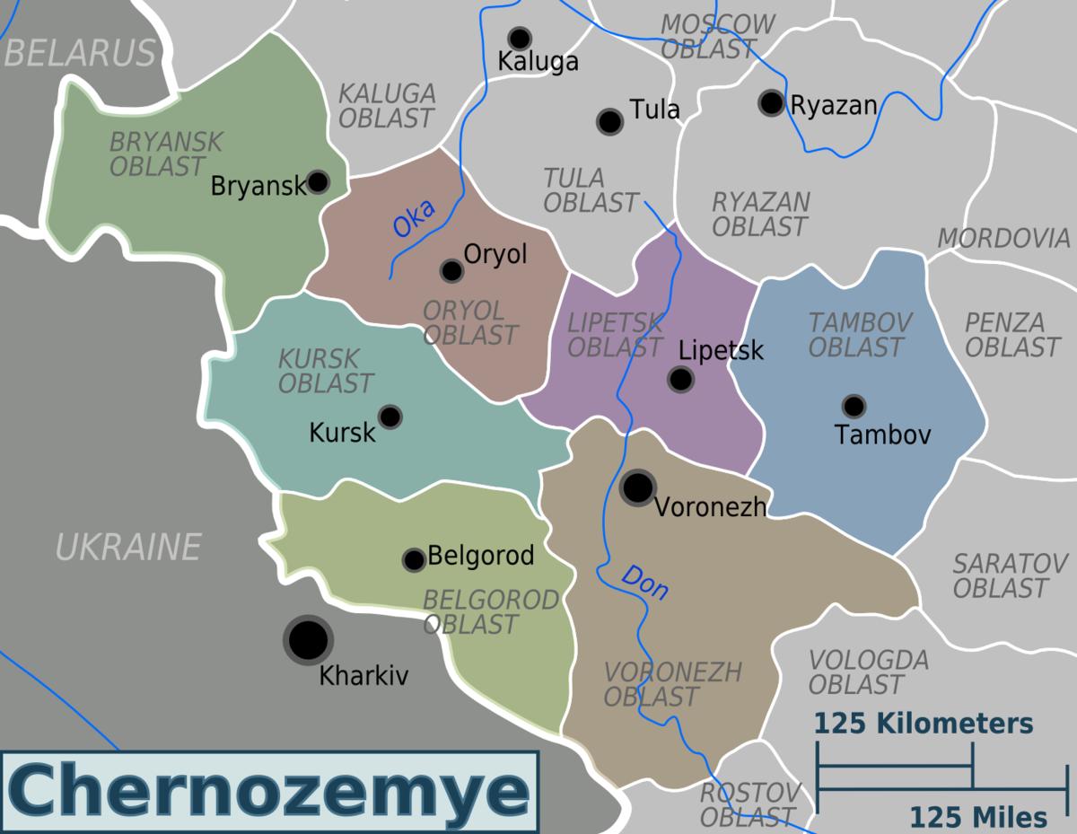 Chernozemye Travel Guide At Wikivoyage
