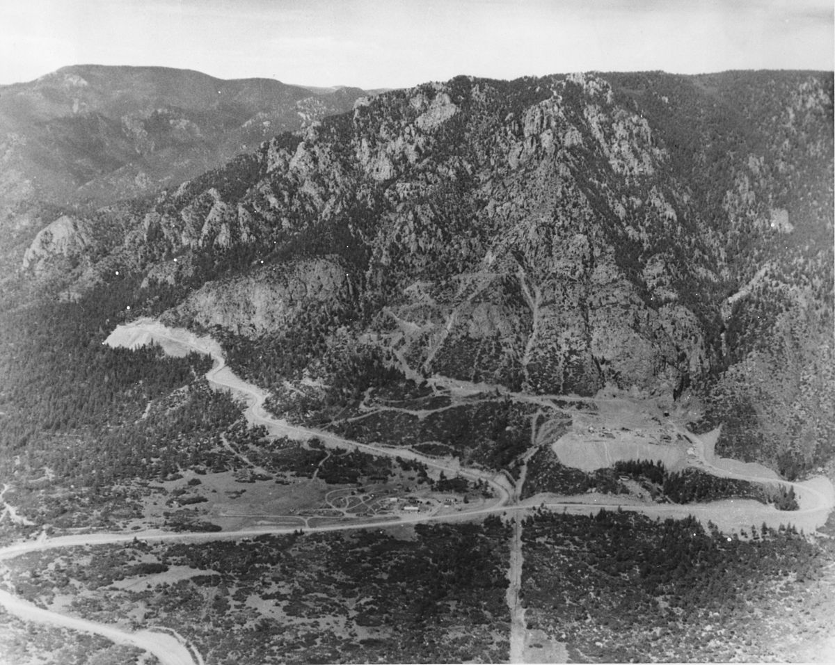 Cheyenne Mountain Complex Wikipedia - Mountainous aircraft accidents map us