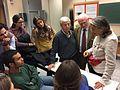 Chiara Castellani, conferenza all'ospedale Sant'Andrea di Roma 01.jpg