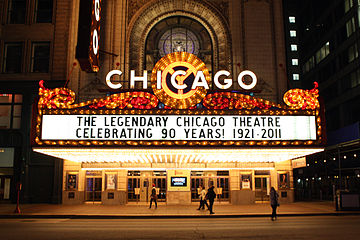 Chicago Theater, finalista en WLM-USA, 2012.