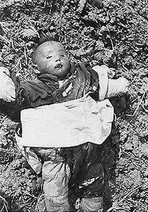 Child killed in Nanking massacre