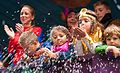 Childern carnival parade, kids on a float 2015.jpg