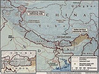 Sino-Indian border dispute Border dispute between China and India