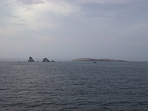 Chincha Islands - Partial view of the islands.