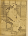Chinese Military Officer, in Official Uniform and Summer Straw Hat. China, 1874-75 WDL1905.png