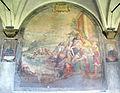 Chiostro grande di smn, lato ovest 07 santi di tito, san domenico salva 40 naufraghi, 1581-84.JPG