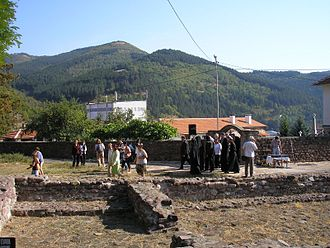 Pejačević - Remains of old Catholic cathedral of St. Mary in Chiprovtsi