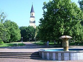 Chlumec (Ústí nad Labem District) - Image: Chlumecké náměstí