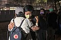 Choy Yuk Ling released from Tai Po Police Station 20201103-1.jpg
