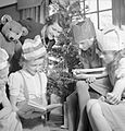 Christmas Party For Trooper Devereux's Daughter- Christmas in Wartime, Pinner, Middlesex, December 1944 D23014.jpg