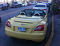 Chrysler Crossfire roadster yellow FL rear.jpg