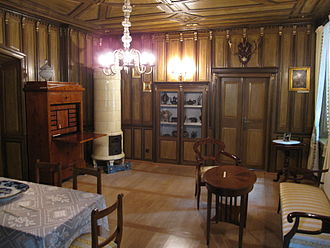 Biedermeier - Biedermeier room in the museum of Chrzanów, Poland