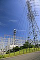 Chubu Electric Power Company East Nagoya Substation 01, Sakae-cho Toyoake 2018.jpg
