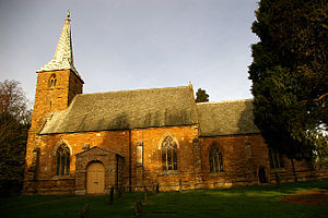 Brocklesby - Image: Church of All Saints, Brocklesby geograph.org.uk 109920
