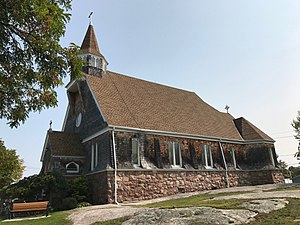 Church of Saint Lawrence - Image: Church of St Lawrence Alexandria Bay NY