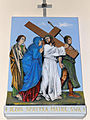 Church of the Assumption of Mary in Kock - Stations of the Cross - 04.jpg