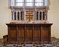 Church of the Holy Cross Felsted Essex England - chancel altar and reredos.jpg