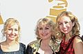 Cimcie, Connie & Ashlee Nichols Grammys 2012.jpg