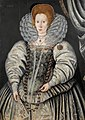 Circle of Marcus Gheeraerts the Younger Portrait of a Lady traditionally called Elizabeth Throckmorton.jpg