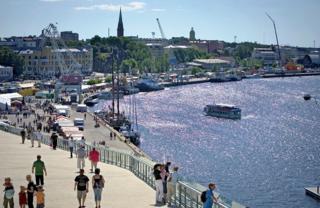 Kotka City in Kymenlaakso, Finland