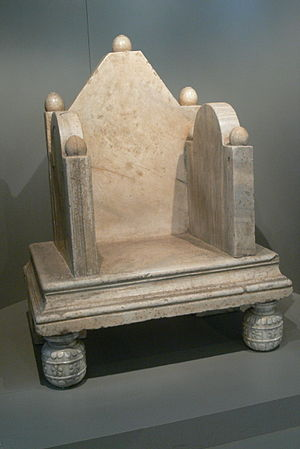 Patriarchate of Aquileia - 11th-century patriarchal throne