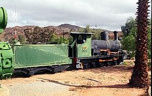 Namaqualand 0-6-2 Clara Class - Image: Clara Class 0 6 2 no. 4 Clara Nababeep