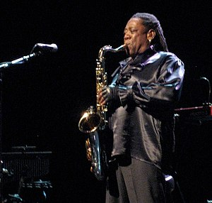 Clarence Clemons - Clemons performs in the E Street Band's Working On A Dream Tour at the  1st Mariner Arena, Baltimore, November 20, 2009.