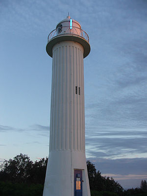 Yamba, New South Wales - Clarence Head lighthouse, Yamba
