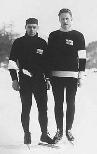 Ossi Blomqvist Finnish speed skater