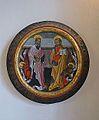 Clau de volta amb els evangelistes Lluc i Marc, taller de Gonçal Peris, museu catedralici de Sogorb.JPG