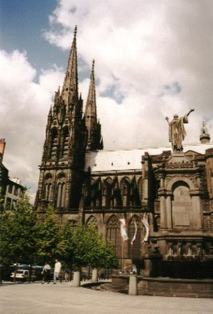 Roman Catholic Archdiocese of Clermont - Clermont-Ferrand Cathedral