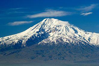 Mount Ararat - Closeup of Greater Ararat