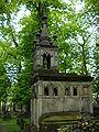 Cmentarz prawosławny na woli grobowiec rodziny istomin.JPG