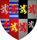Coat of arms Wenceslaus I of Luxembourg.png