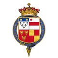 Coat of arms of Henry Clinton, 7th Earl of Lincoln, KG, PC.png