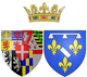 Coat of arms of Marie d'Orléans as Duchess of Nemours.png