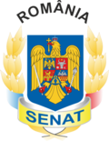 Coat of arms of the Senate of Romania.png