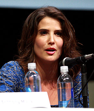 Cobie Smulders - Smulders at the 2013 San Diego Comic Con International