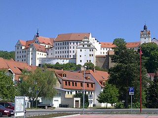 Colditz Place in Saxony, Germany