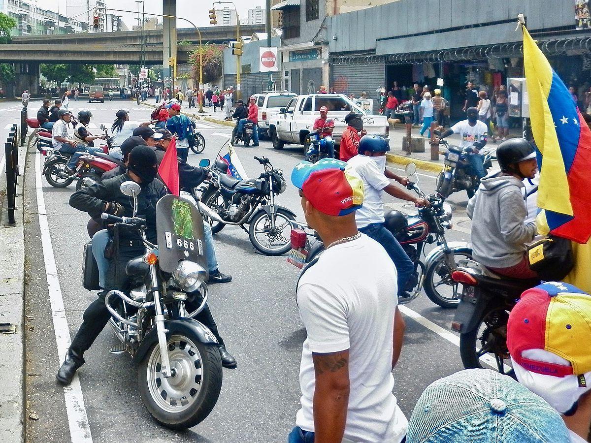 Image result for colectivos en venezuela