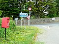 Collection of signs at Silford Cross - geograph.org.uk - 1302623.jpg