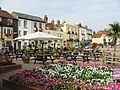 Colourful pub seating area on Beach Street - geograph.org.uk - 967186.jpg